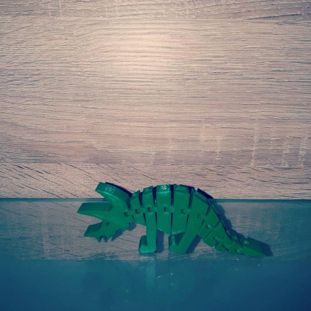 Dinosaurer gedruckt mit OWL-Filament