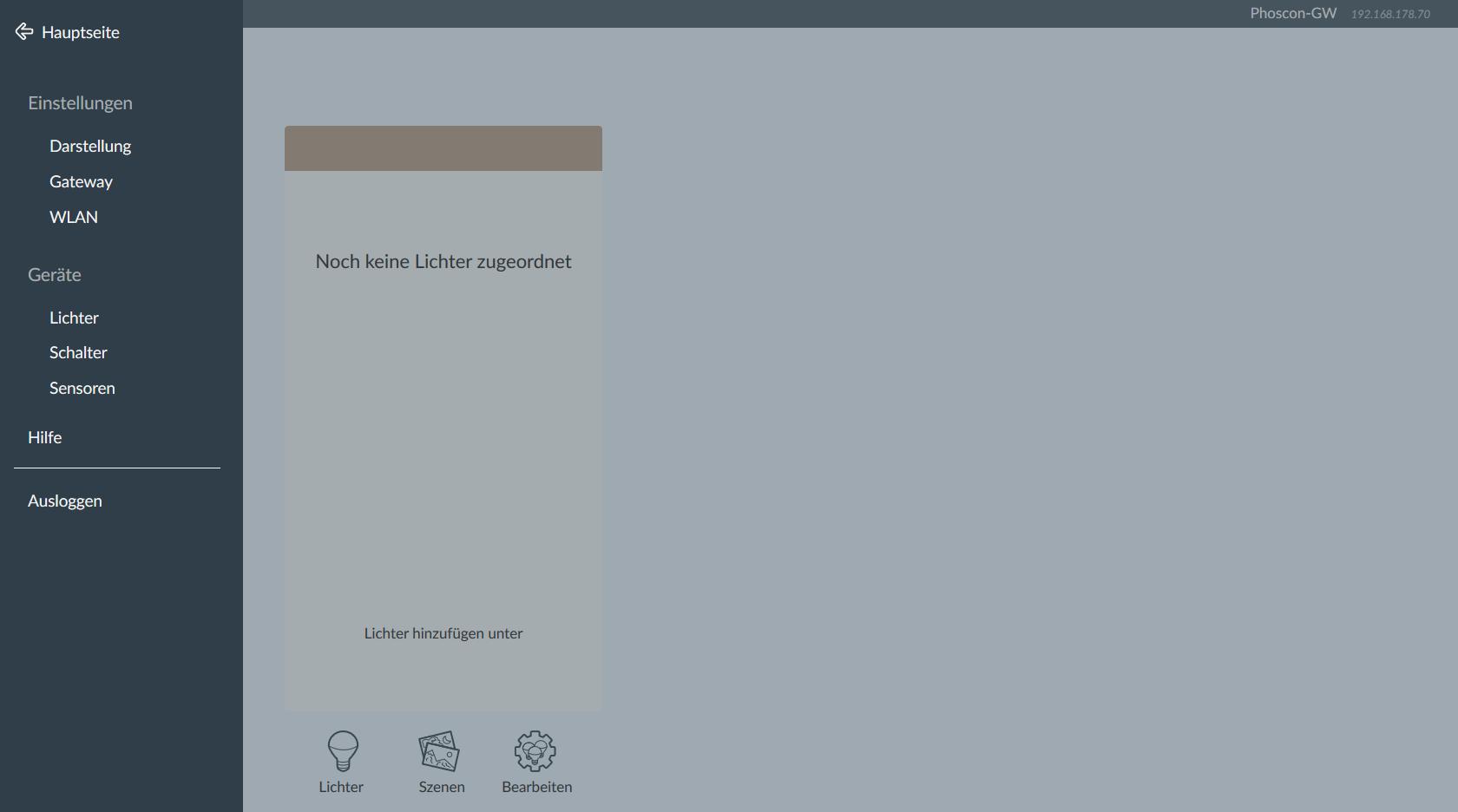 Zigbee Gateway ohne Cloud mit dem Phoscon ConBee II von