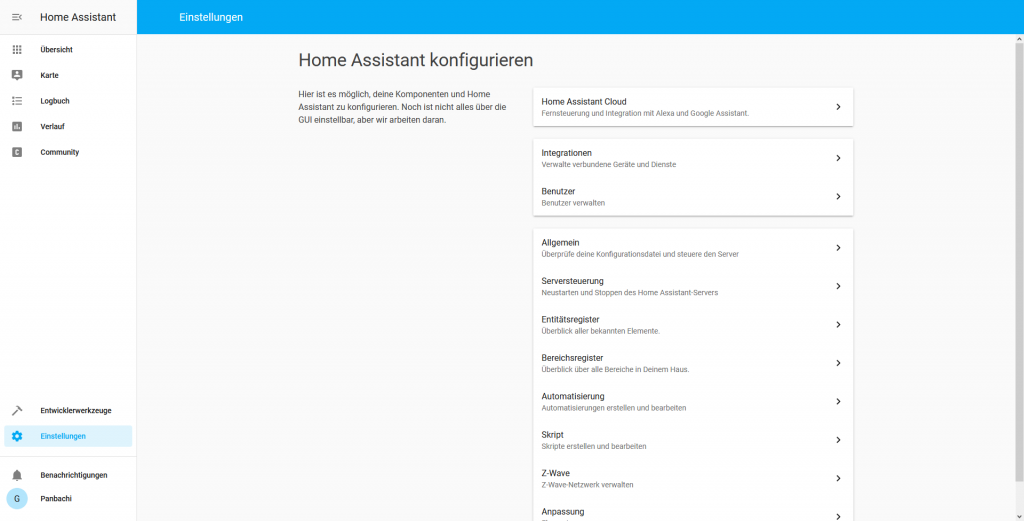 Gledopto per deconz in Home-Assistant einbinden